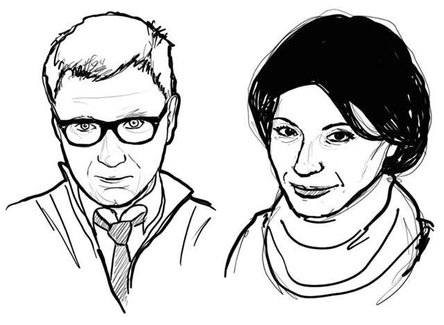 "portrety dla ""Pisma er"" / grafika komputerowa"